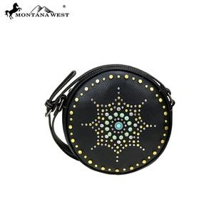 BR Montana West Aztec Collection Circle Crossbody